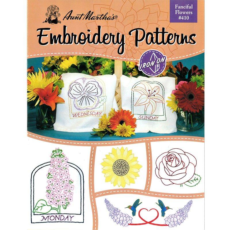 Fancy Flowers embroidery patterns