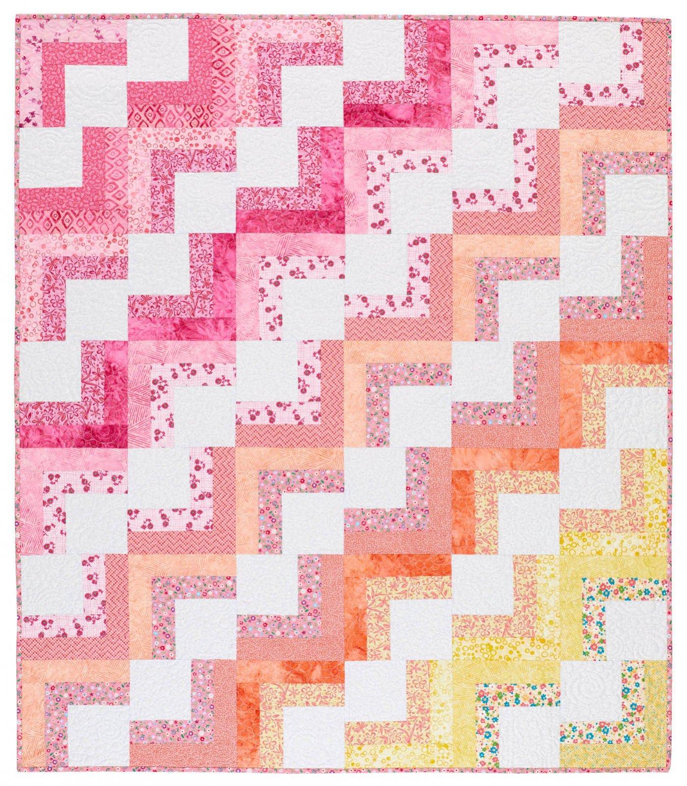 Baby Blocks quilt kit