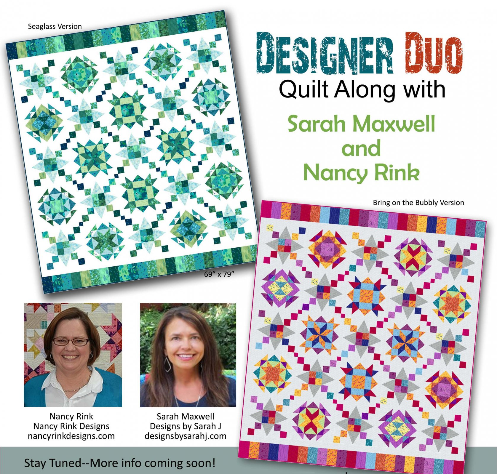 Designer Duo pattern booklet