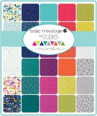 A half yard bundle of Basic Mixologie