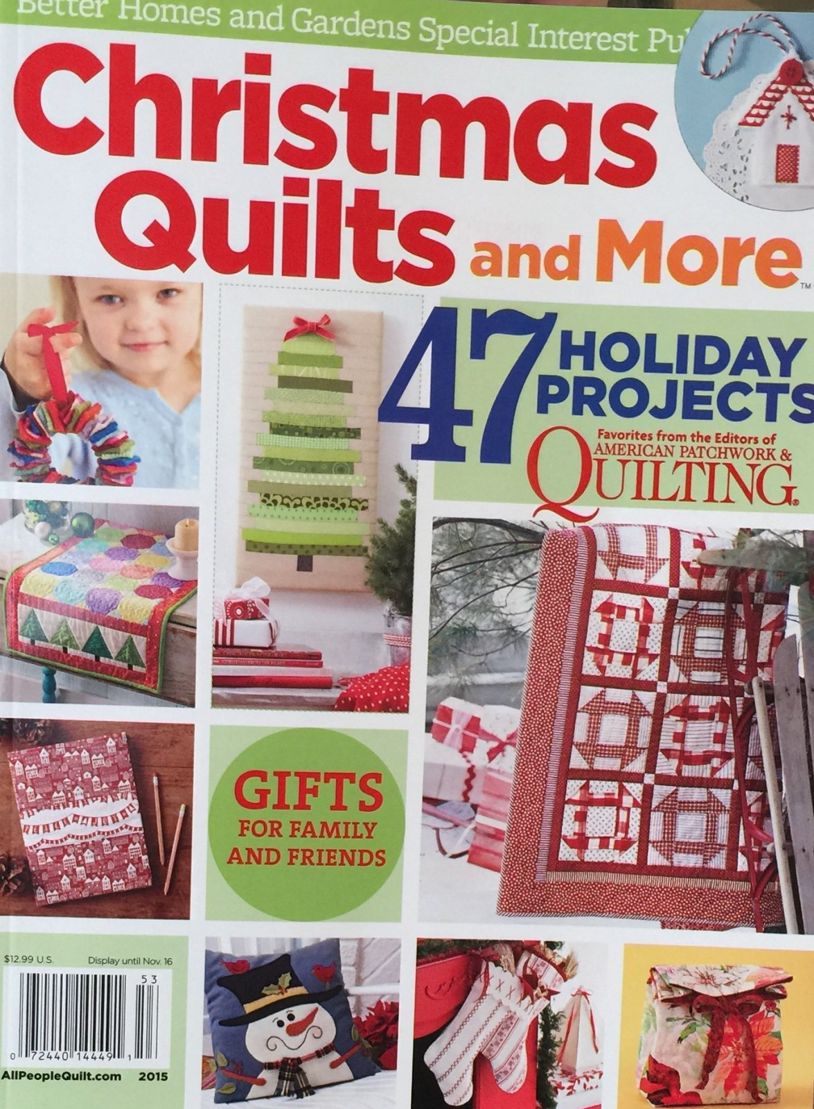 Christmas Quilts & More