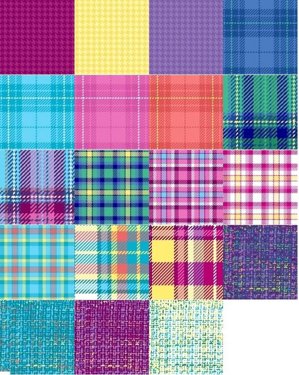 A fat quarter bundle of Color Crush 2