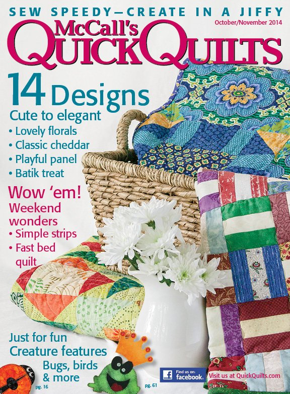 McCall's Quick Quilts, Oct-Nov 2014