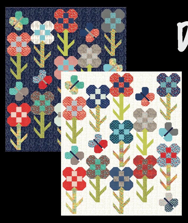 Dandy Flower Quilt Along kit