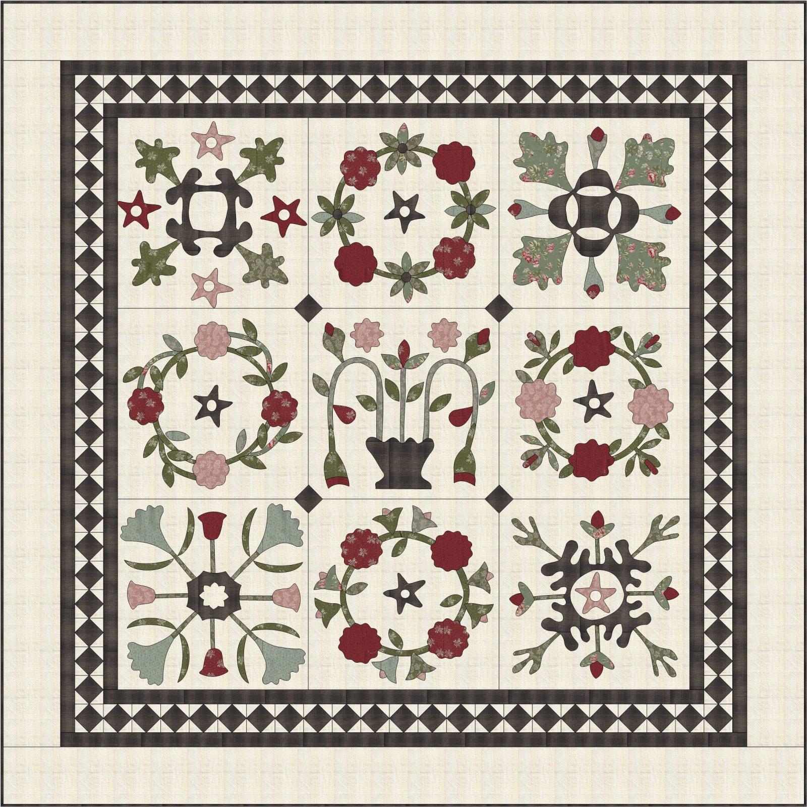 Farmhouse Sampler pattern