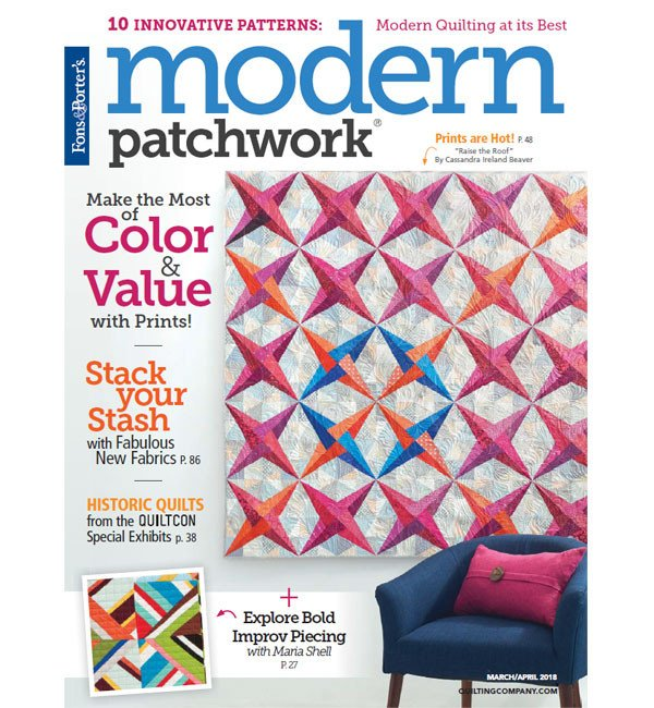 Modern Patchwork, March/April 2018