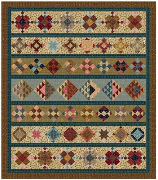 Judies Album Row Quilt Pattern