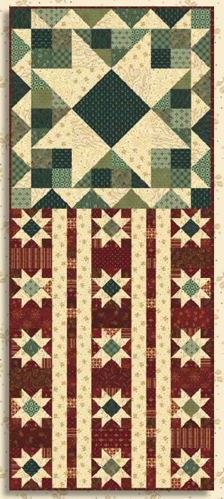 Liberty Star quilt kit