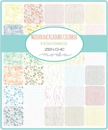 A half yard bundle of Modern Backgrounds Colorbox