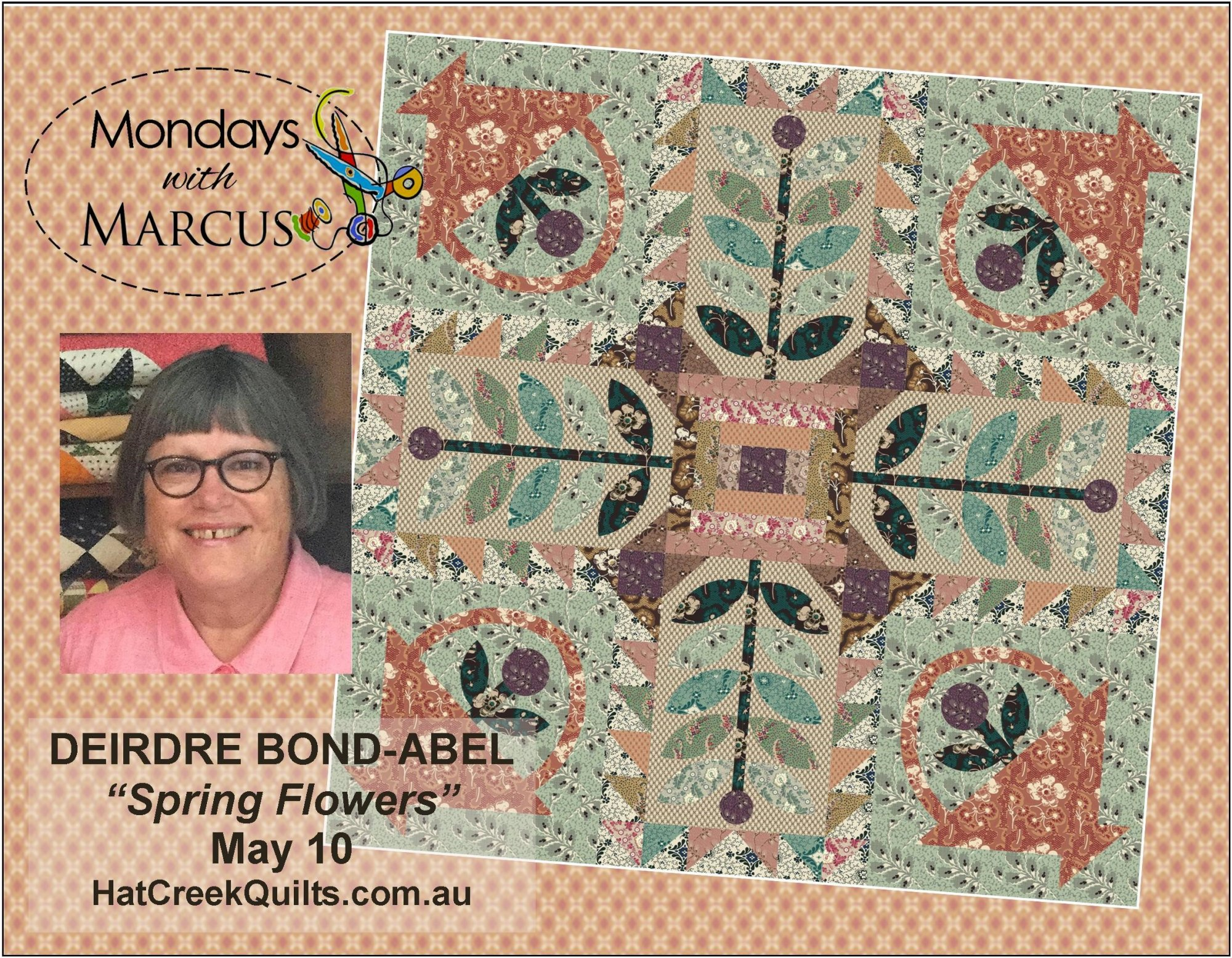 Spring Baskets pattern by Hat Creek Quilts