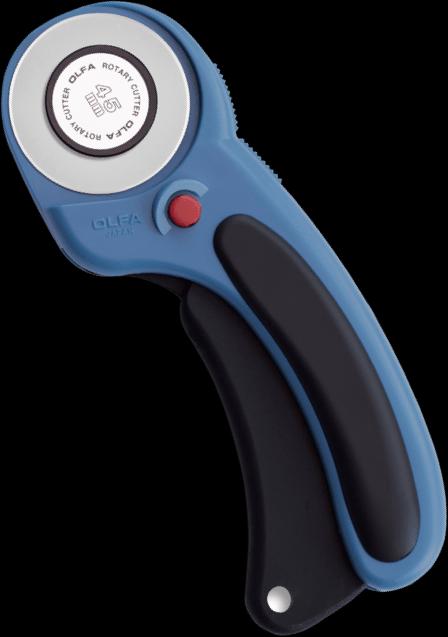 Olfa Pacific Blue 45mm Ergonomic Rotary Cutter