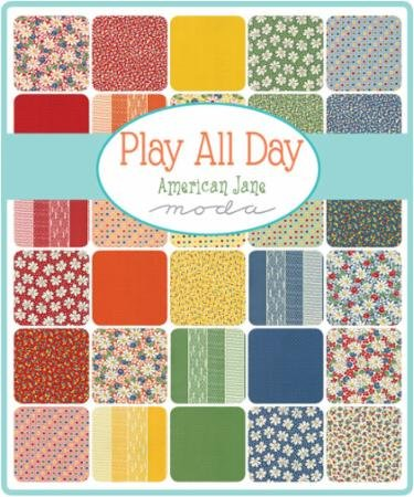 A half yard bundle of Play All Day
