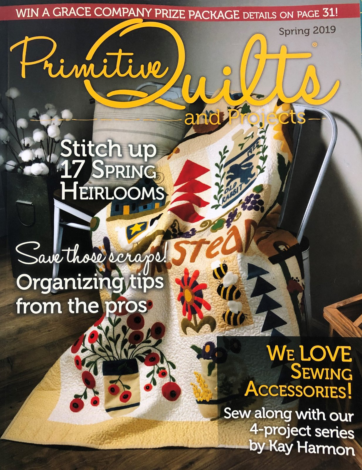 Primitive Quilts, Spring 2019