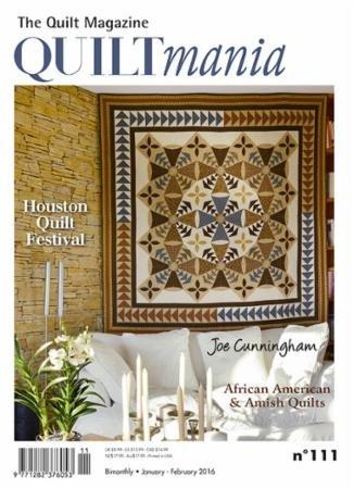 Quiltmania Issue 111