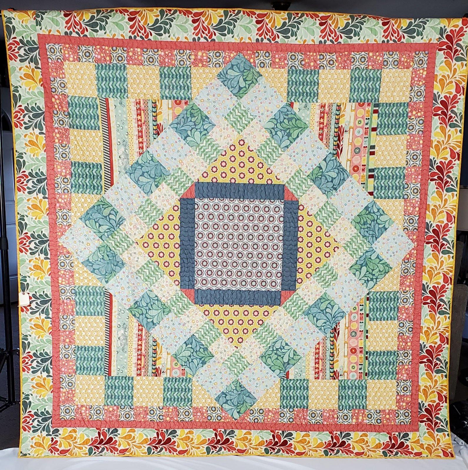Salt Water quilt