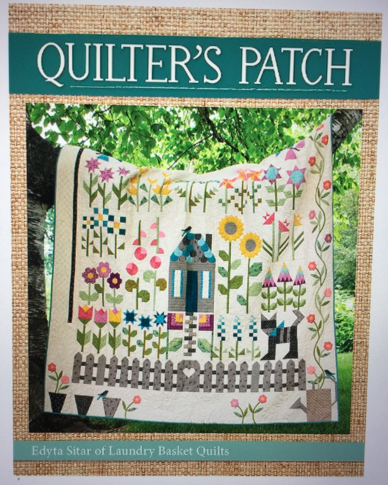 Quilter's Patch book by Laundry Basket Quilts