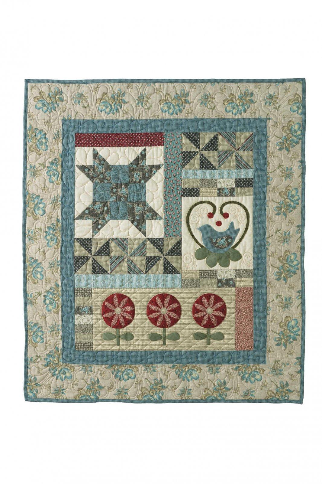 Primitive Quilts 2018 Seasonal Mystery Quilt kit