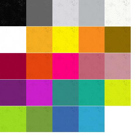 A half yard bundle of Spectrastatic