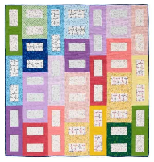 Step Lively quilt kit
