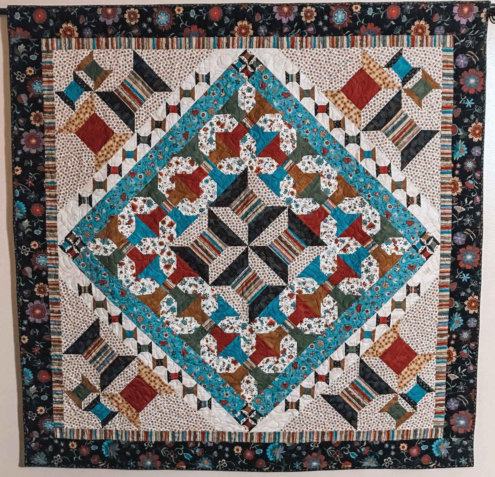 Threaded Spools quilt kit