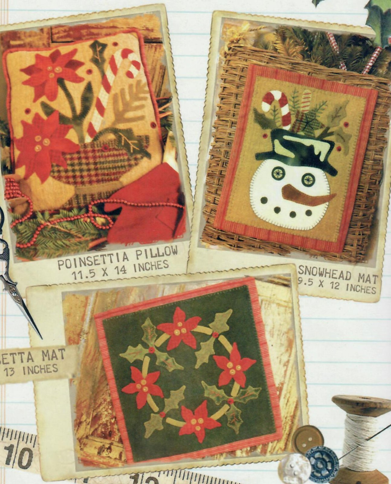 Three Holiday Patterns in One!