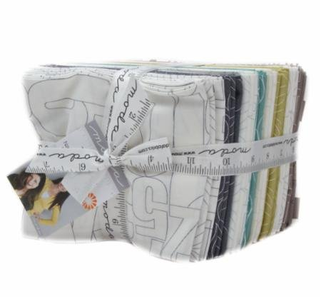 A fat quarter bundle of Thrive