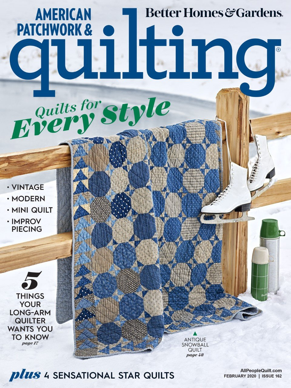 American Patchwork & Quilting, February 2020