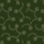 Green speckled flowers