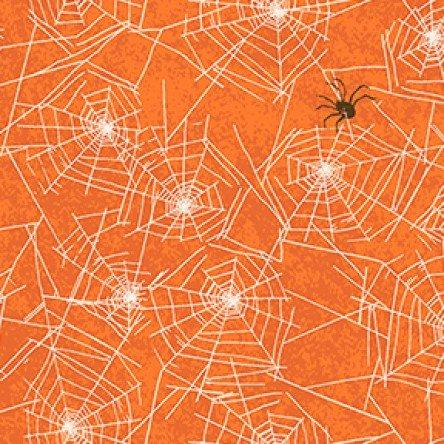 Orange cobwebs