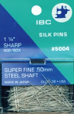 IBC Silk Pins 1-1/4 in 500 pcs