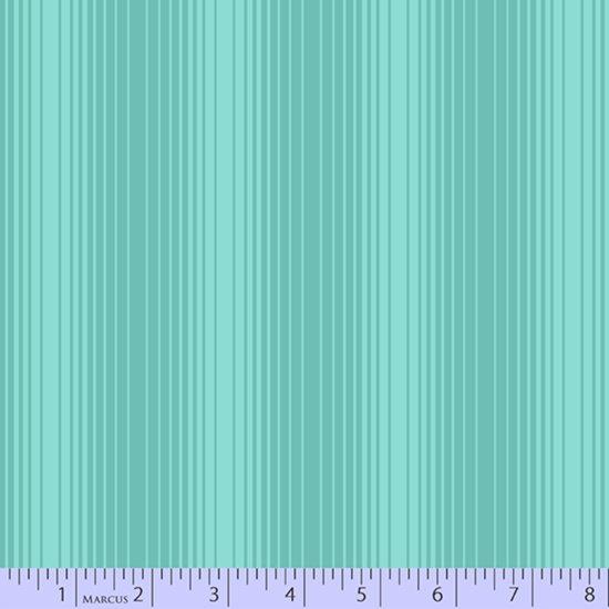 Aqua shaded stripe