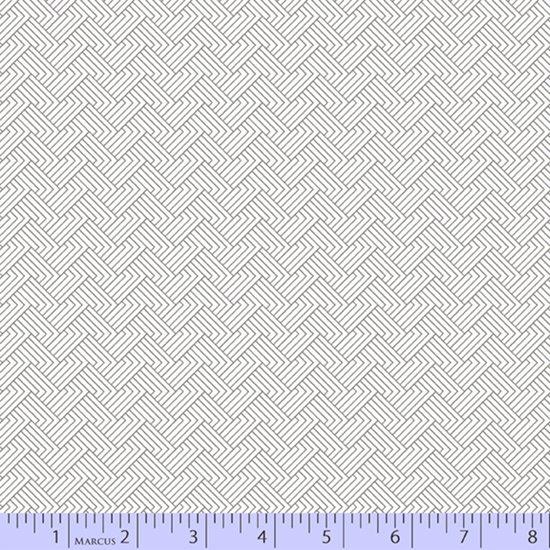 Grey maze print