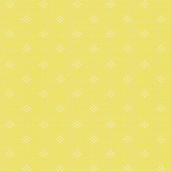 Lemon intersect woven yarn-dyed dobby