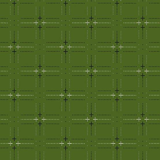 Verdant plus woven yarn-dyed dobby