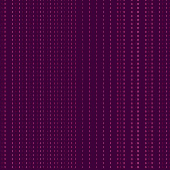 Amethyst sashiko woven yarn-dyed dobby