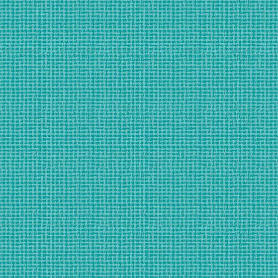 Light teal static woven yarn-dyed dobby
