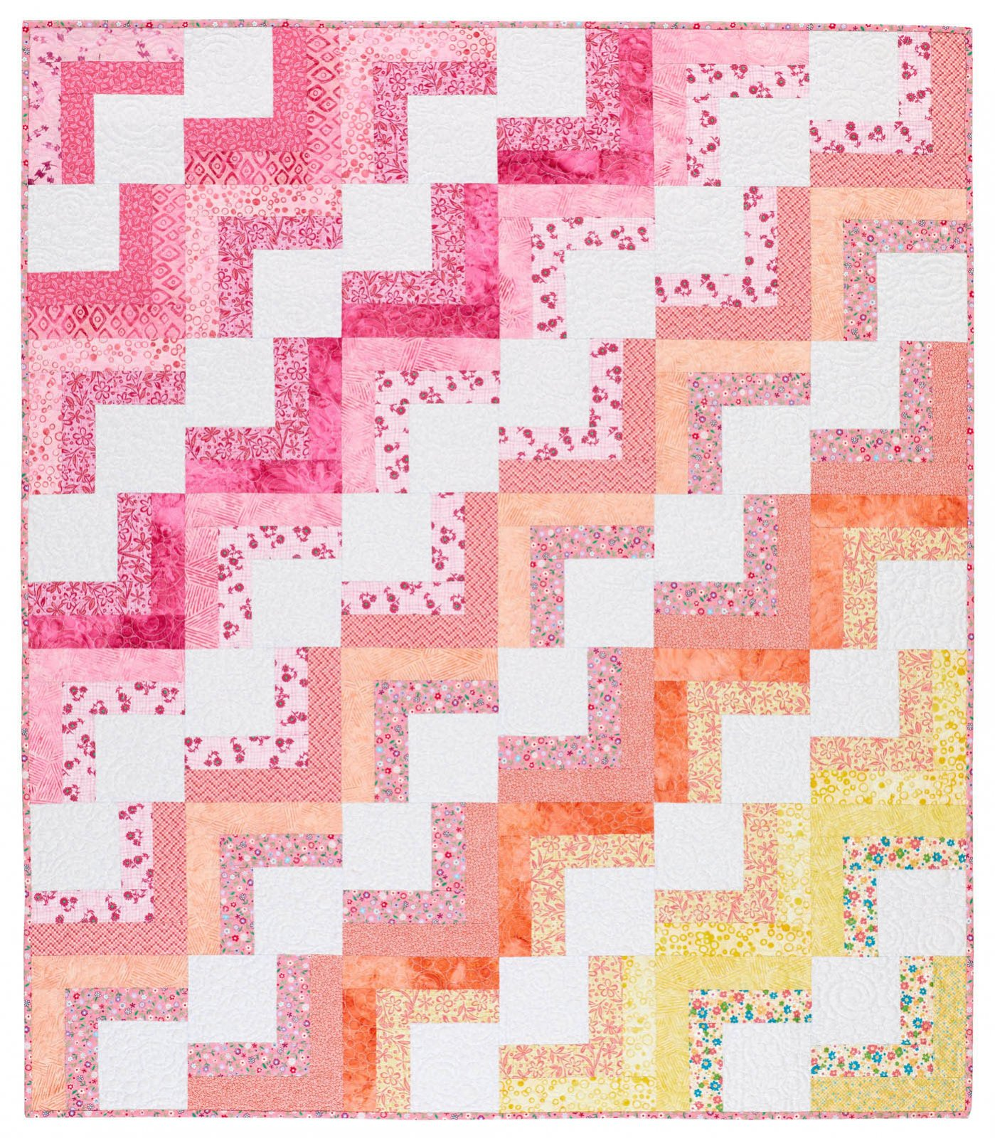 Baby Blocks quilt kit