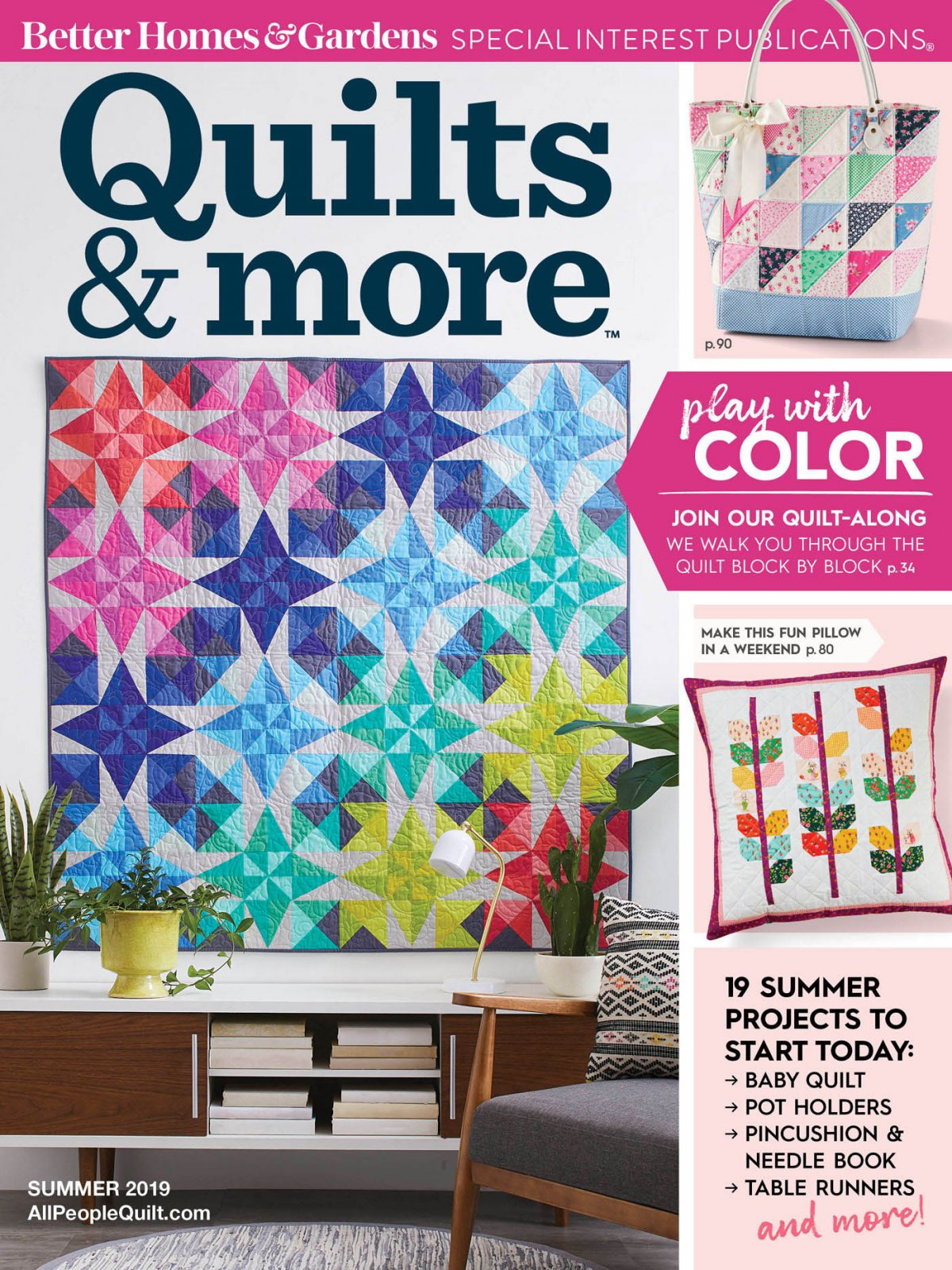 Quilts and More, Summer 2019