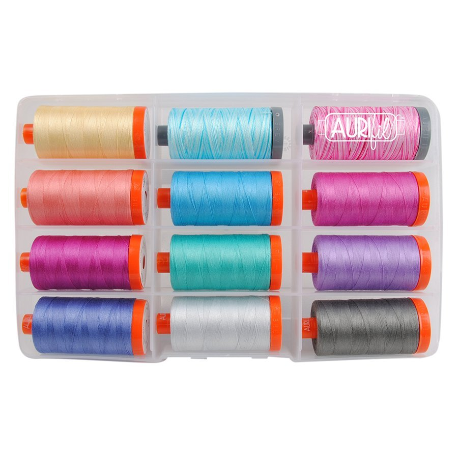 Dandy Days large spool Aurifil collection