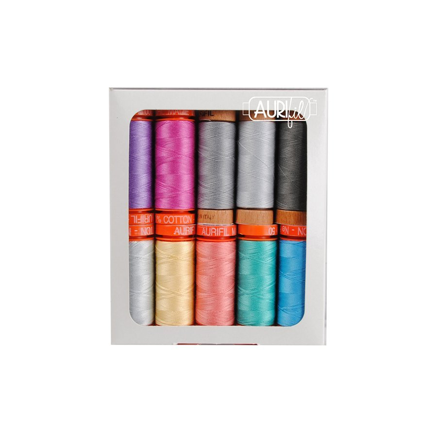 Dandy Days small spool Aurifil collection