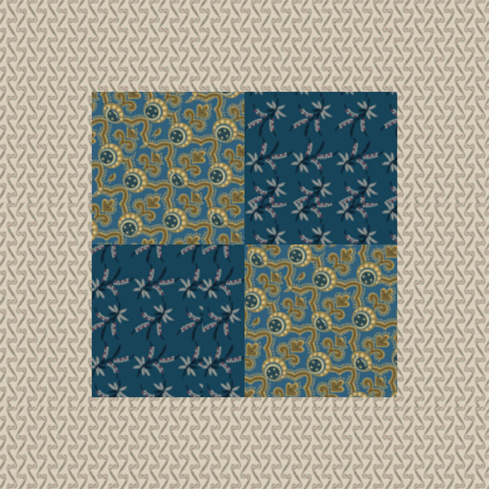 Just Squared Quilting Plan download