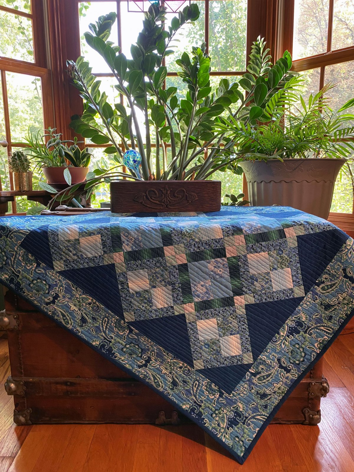 Simply Squared quilt kit