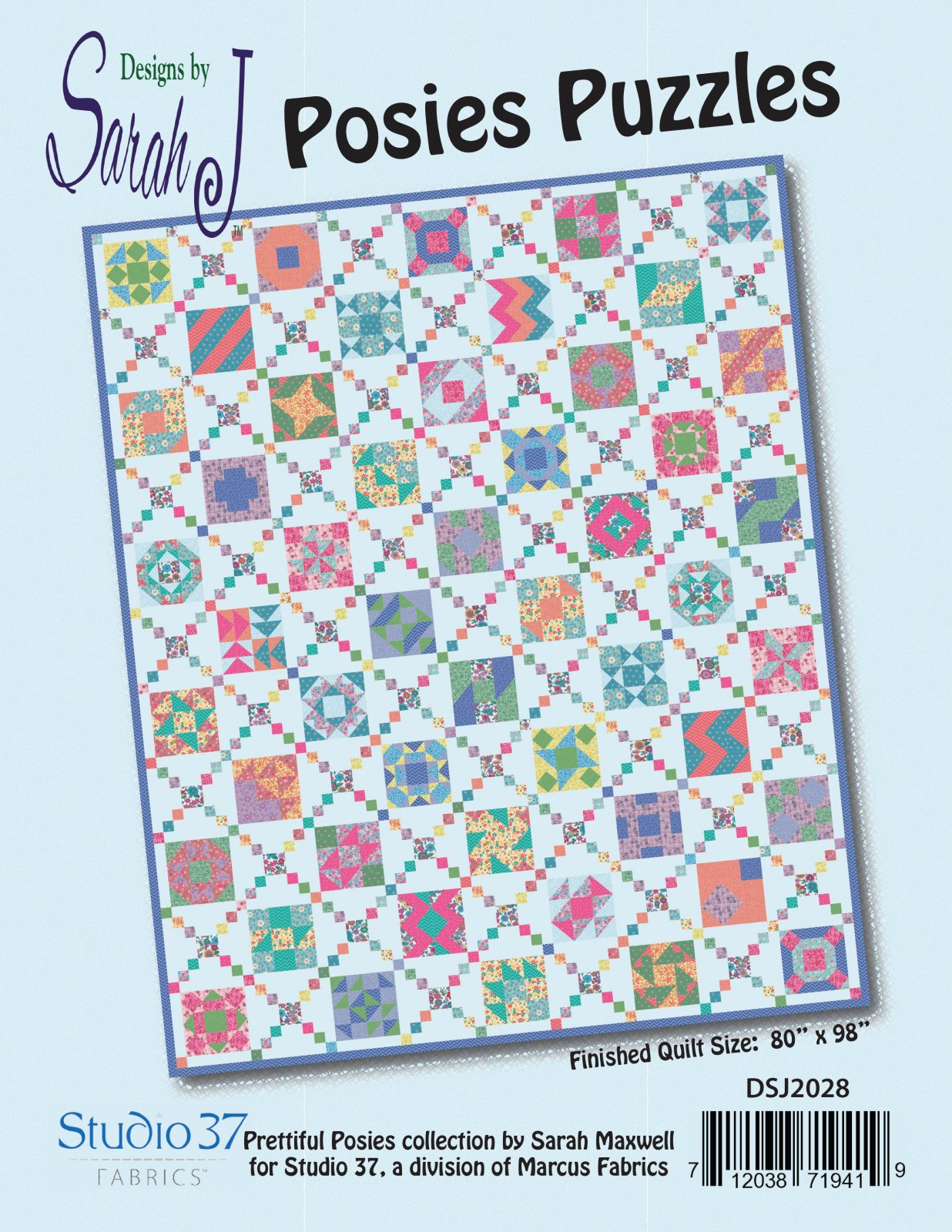 Posies Puzzles pattern
