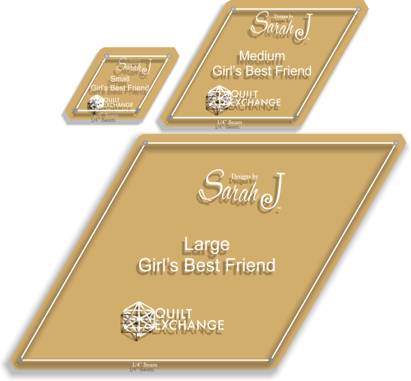 Girl's Best Friend Template set