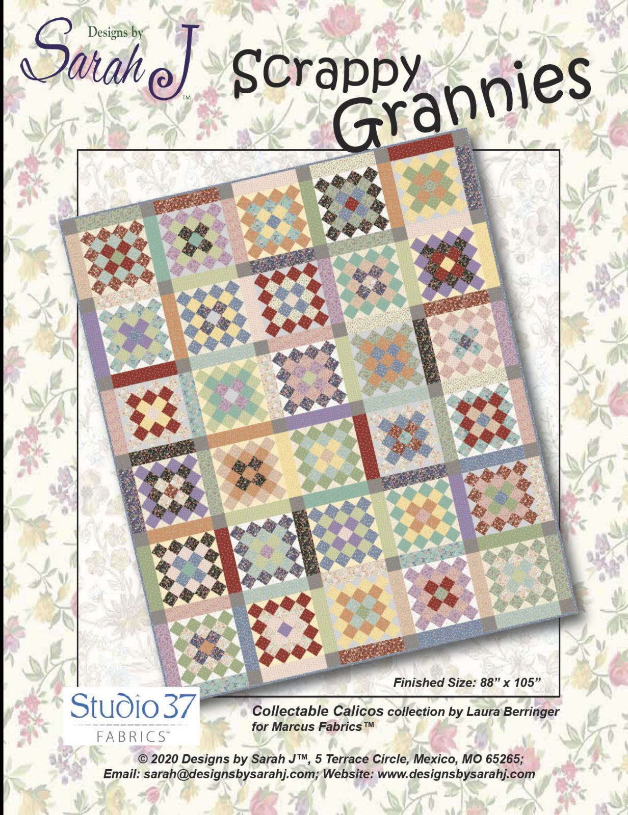 Scrappy Grannies--PDF version