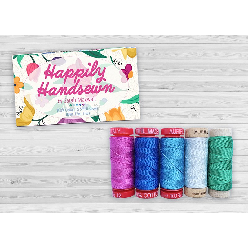 Happily Handsewn small spool collection