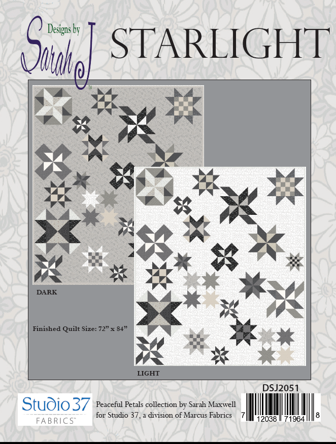 Starlight block of the month pattern