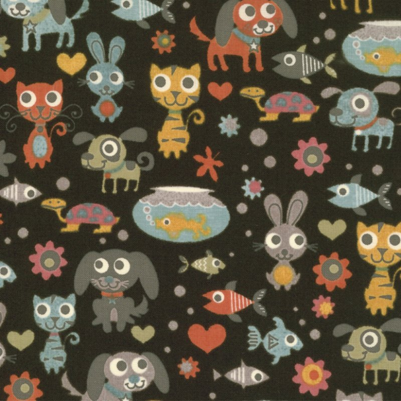 Max and Whiskers by Basic Grey for Moda Fabric ~30250 17~