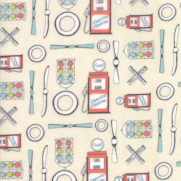 Mighty Machines by Lydia Nelson for Moda Fabric ~49020 11B~