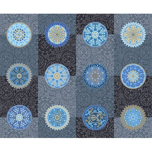 Desert Moons by Lonni Rossi for Andover Fabrics ~A 7722 MB~